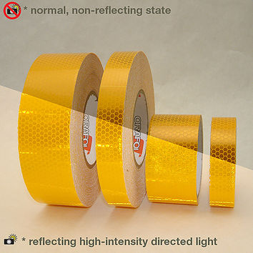 Reflexite 5900 HIP Prismatic-Grade Reflective Tape: