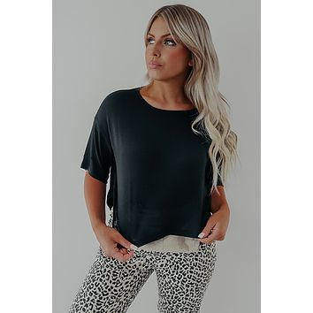 Better With You Top: Black
