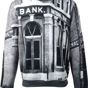 Carven photographic print sweatshirt