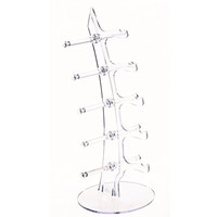 KLOUD City® Sunglasses/ Glasses Sale Show Display Stand /Rack Holder /Organizer (clear)