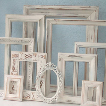 Wedding Frames  Made to Order Set of 10 Frames by TheArtofChic