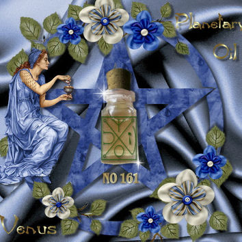 No161 Venus planetary oil powerful energies fidelity, love, money, reconciliation, beauty, youth, joy, happiness, pleasure, luck, friends
