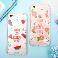 Summer fruit bestie mobile phone case for iphone 6 6s 6plus 6s plus + Nice gift box!