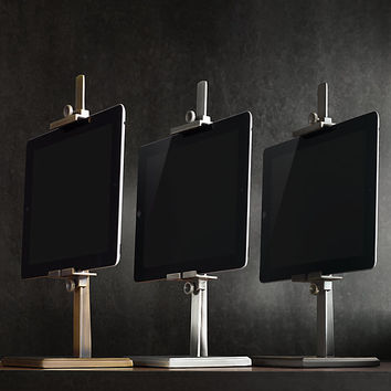 Metal Easel Stand For Ipad® - Aged Steel