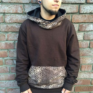 labyrinth-sacred-geometry-hoodie-heilige-geometrie-pullover-hippie-psychedelic-clothing-goa-handmade-crossneck-steam-street-skater-snowboard