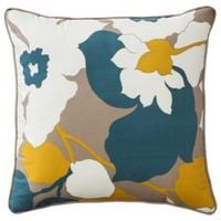 "Room Essentials® Bold Floral Toss Pillow - Multi (18x18"")"