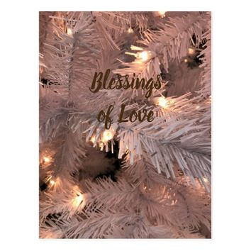 Cashmere Lighted Tree Postcard