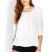 Boho Doll Embroidered Top