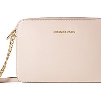 MICHAEL Michael Kors Jet Set Travel Large East/West Crossbody, Soft Pink