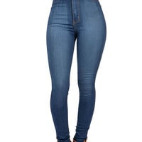 Expression High Waist Skinnys