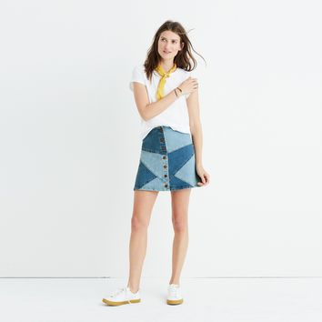 Pieced Jean Skirt : | Madewell