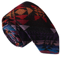 Tribal Print Skinny Tie from Something Strong