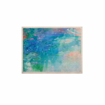 "Ebi Emporium ""Childlike Wonder"" Blue Pastel KESS Naturals Canvas (Frame not Included)"
