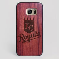 Kansas City Royals Galaxy S7 Edge Case - All Wood Everything