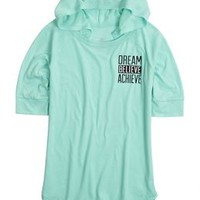 Positive Message Hooded Tee   Girls Tops Clothes   Shop Justice