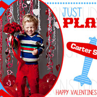 Plane Chevron Personalized Valentines Day Card - Printable