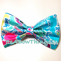 Lilly Pulitzer In The Beginning Bow