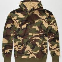 Rothco Woodland Camo Mens Hoodie Camo  In Sizes