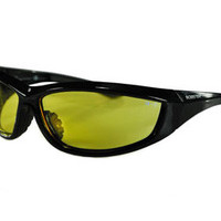 Bobster Tactical Eyewear l Charger Sunglasses Anti-fog Yellow Lenses Z87