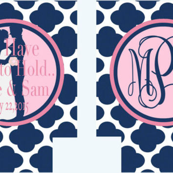 Wedding Save the Date Koozies. Wedding Coozies! Wedding Party Favors. Personalized Wedding Gifts. Monogrammed Favors Koozies Can Koozie