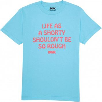 DGK Shorty T-Shirt - Pacific Blue