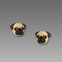 Sienna Sky Earrings - Pug Face Posts