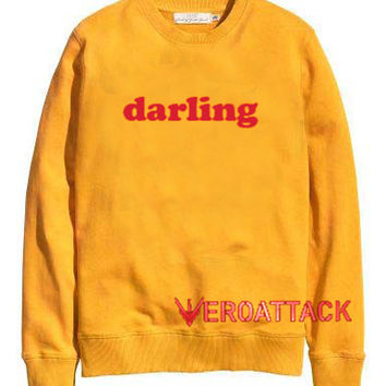 Darling gold yellow Unisex Sweatshirts