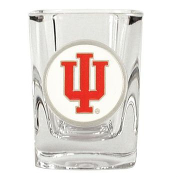 Indiana Hoosiers Square Shot Glass - 2 oz.