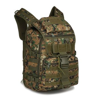 Mens Military Tactical Backpack for Fishing Hunting Assault Backpack Climbing Hiking Camping Army Waterproof Bug Small Rucksack