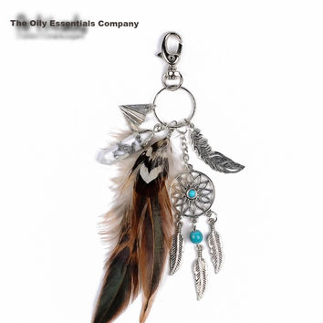 The Oily Essentials Boho DreamCatcher Key Chain