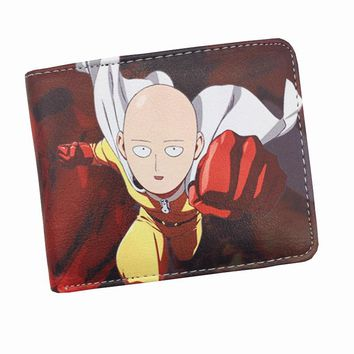 Free Shipping Comics One Punch Man Star Wars Purse Logo Credit Card Holder Cartoon Wallet