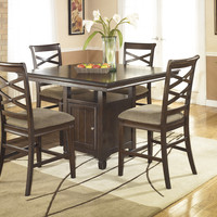 Ashley D480 Hayley Dining Table Set