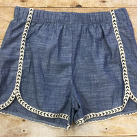Short & Sweet Chambray Shorts