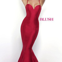 Sweetheart Long Mermaid Style Prom Dress