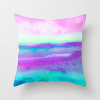 Destiny 1 Throw Pillow by Jacqueline Maldonado | Society6