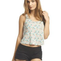 Floral Pocket Tank | Wet Seal