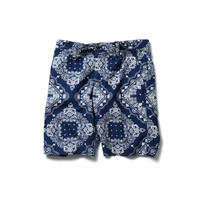 SOPHNET. | PRODUCT | INDIGO OXFORD SHORT PANT
