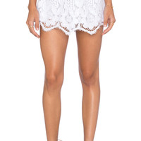 Sonali Lace Skirt in White