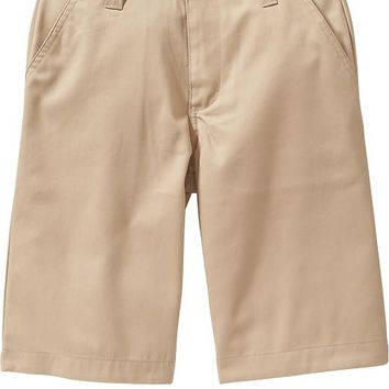 Old Navy Boys Plain Front Uniform Shorts