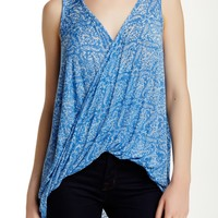 Sleeveless Twist Tank