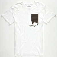 Etnies Tompkins Mens T-Shirt White  In Sizes