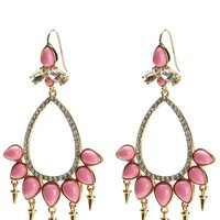 Coral Chandelier Earring by Juicy Couture