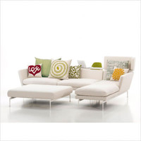 Vitra - Suita Open 2 Seater Sofa with Chaise Lounge | All Modern