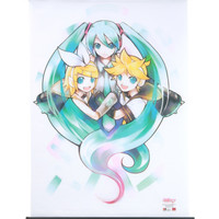Hatsune Miku Rin And Len Wall Scroll