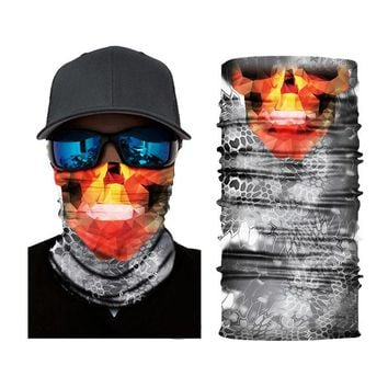 ADK New Sports Masks Magic Headband Outdoor Neck Warmer Face Mask Fabric Head Scarf Scarves Bandana Male Female