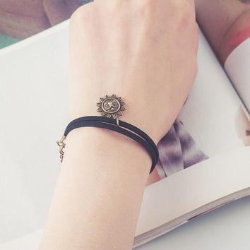 Black lace cute bracelets & bangles handmade accessories jewelry bracelets