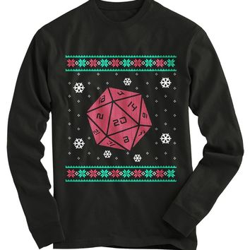 Roll For Crit Ugly Christmas Sweater-On Sale