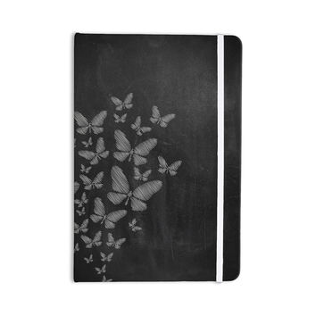"Snap Studio ""Butterflies IV"" White Chalk Everything Notebook"