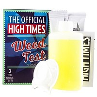 The Official High Times 1 Panel Test (2ct) + 3oz Synthetic Urine