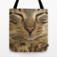 Cat Tote Bag by Deadly Designer